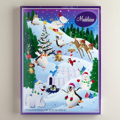 North Pole Large Advent Calendar
