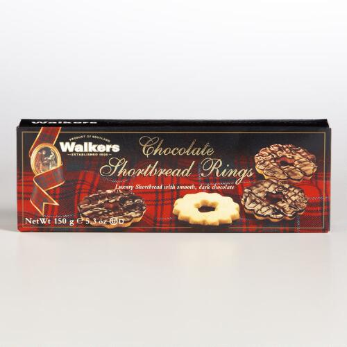 Walkers Chocolate Shortbread Rings