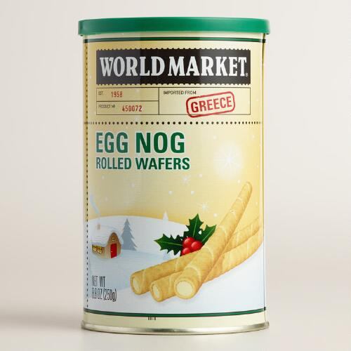 World Market® Eggnog Rolled Wafers