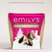 Emily's Dark Chocolate Peppermint Fortune Cookies