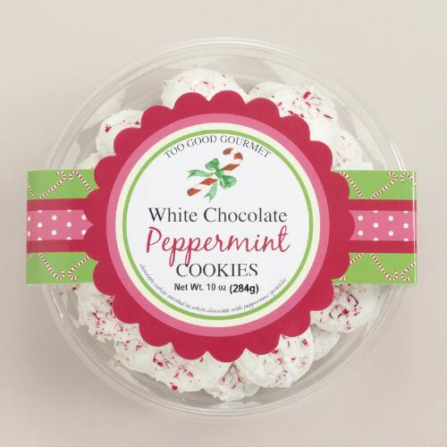 Too Good Gourmet White Chocolate Peppermint Cookies