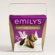 Emily's Milk Chocolate Fortune Cookies