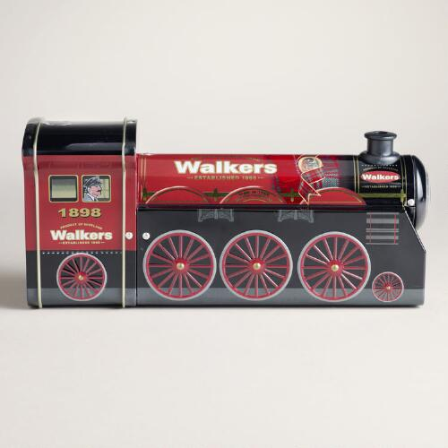Walkers Chocolate Chip Shortbread Steam Engine Tin