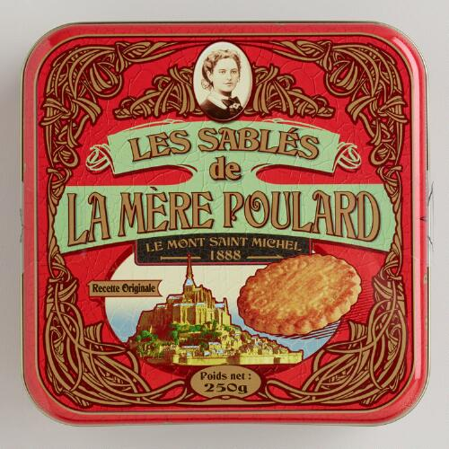 Le Mère Poulard Traditional Shortbread Tin