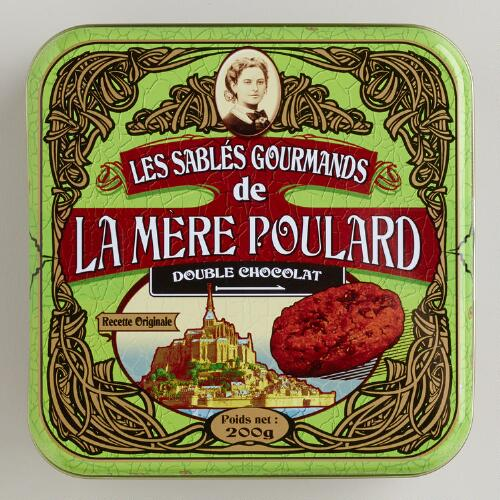 Le Mère Poulard Double Chocolate Shortbread Tin