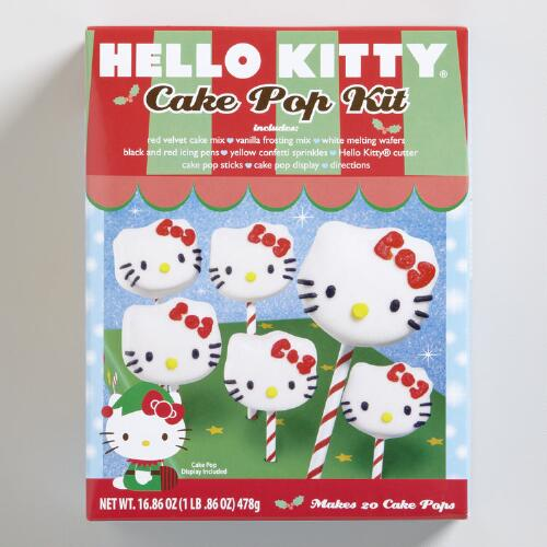 Hello Kitty Cake Pops Baking Kit