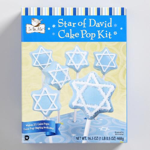 Hanukkah Cake Pops Baking Kit