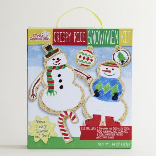 Crispy Rice Snowman Kit