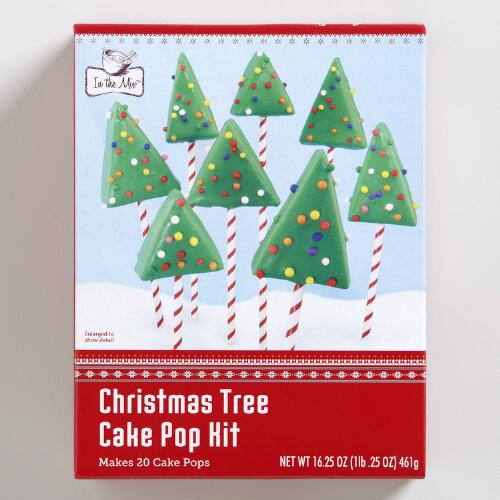 Holiday Tree Cake Pops Baking Kit