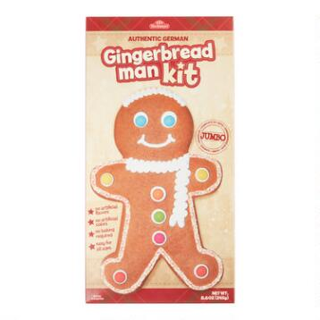 Do-It-Yourself Gingerbread Man Kit, Set of 2