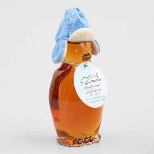 Highland Sugarworks Penguin Maple Syrup Bottle