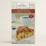 Sof'ella Sour Cream Coffee Cake Mix, Set of 2