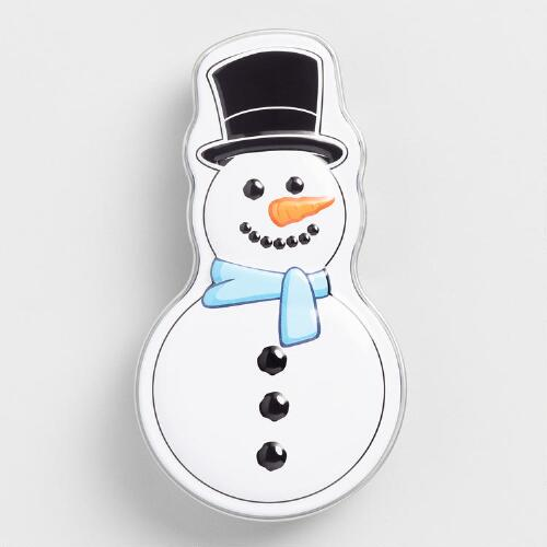 Snowman Poop Jellybeans, Set of 6