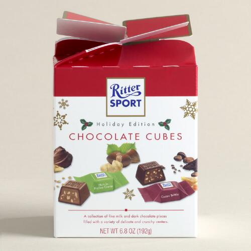 Ritter Sport Chocolate Cubes Holiday Box