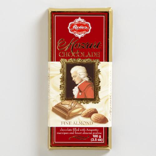 Reber Mozart Milk Chocolate Almond Bar