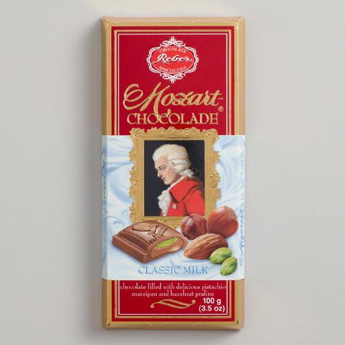 Reber Mozart Milk Chocolate Bar