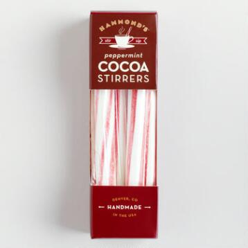 Hammond's Peppermint Cocoa Stirrers