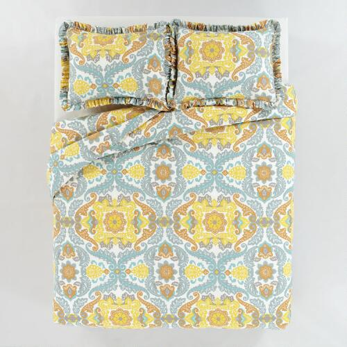 Juliana Duvet & Pillow Shams Set