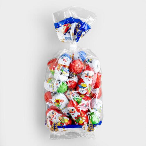 Riegelein Chocolate Santa and Snowman Bag