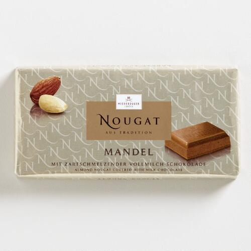 Niederegger Almond Nougat Chocolate Bar