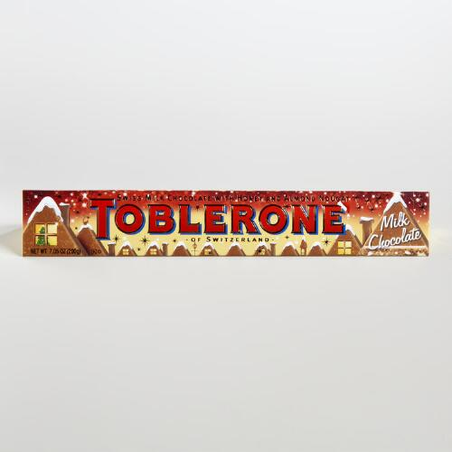Toblerone Holiday Milk Chocolate Bar, Set of 5