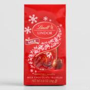 Lindt Mini Holiday Milk Chocolate Truffles, Set of 6