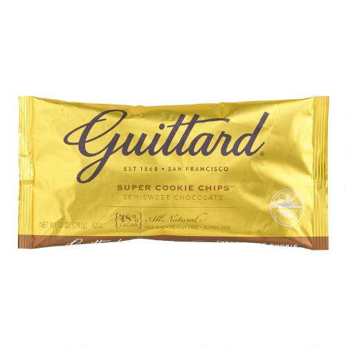 Guittard Semisweet Chocolate Super Cookie Chips Bag