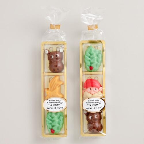 Odenwaelder Assorted Christmas Marzipan Figurines