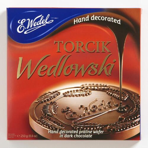 E. Wedel Dark Chocolate Praline Wafer