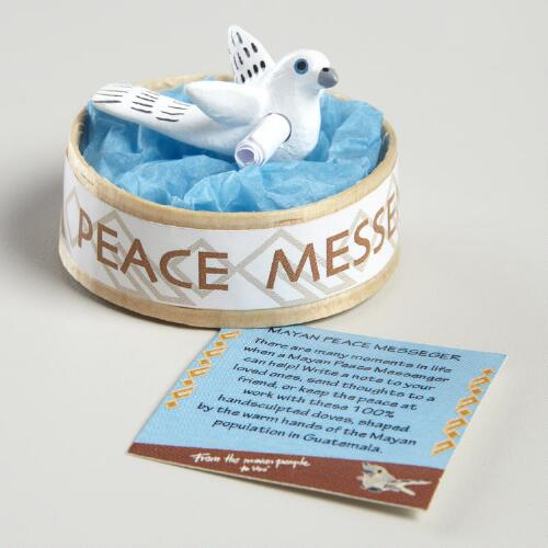 Dove Peace Messenger Worry Doll