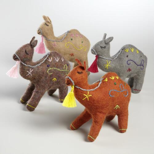 Assorted Felt Nepalese Camel