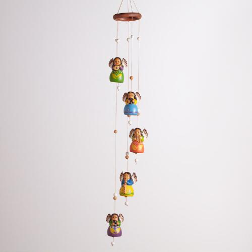 Peruvian Angels Wind Chime