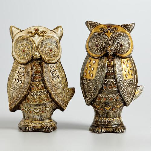 Naisha Owls, Set of 2