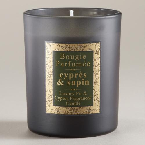 Fir Scented French Candle