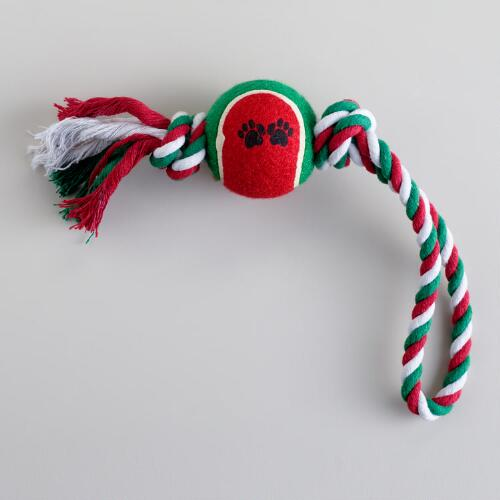 Christmas Rope and Ball Toy