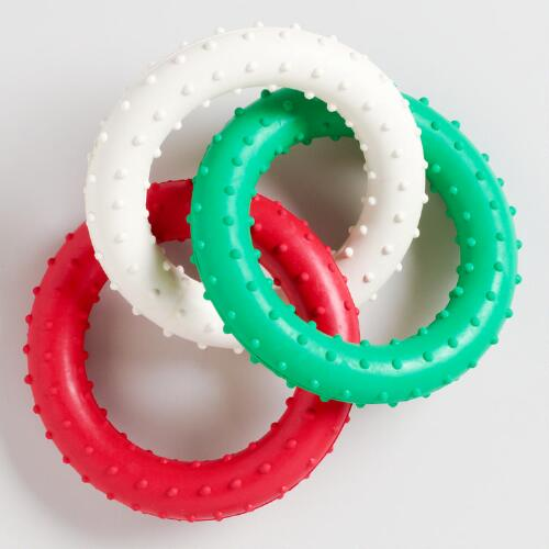 Christmas Chew Rings
