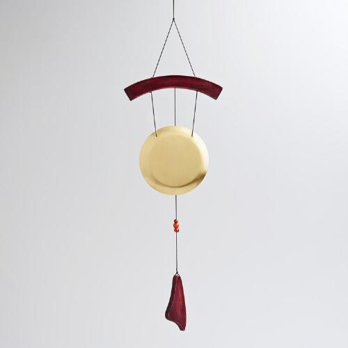 Asian Gong Wind Chime