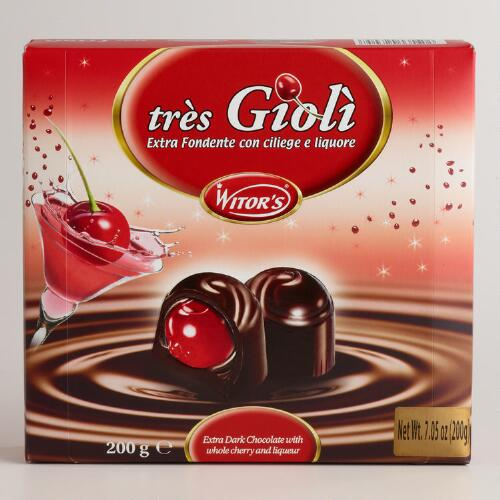 Witor Pralines Filled with Cherries and Liquor