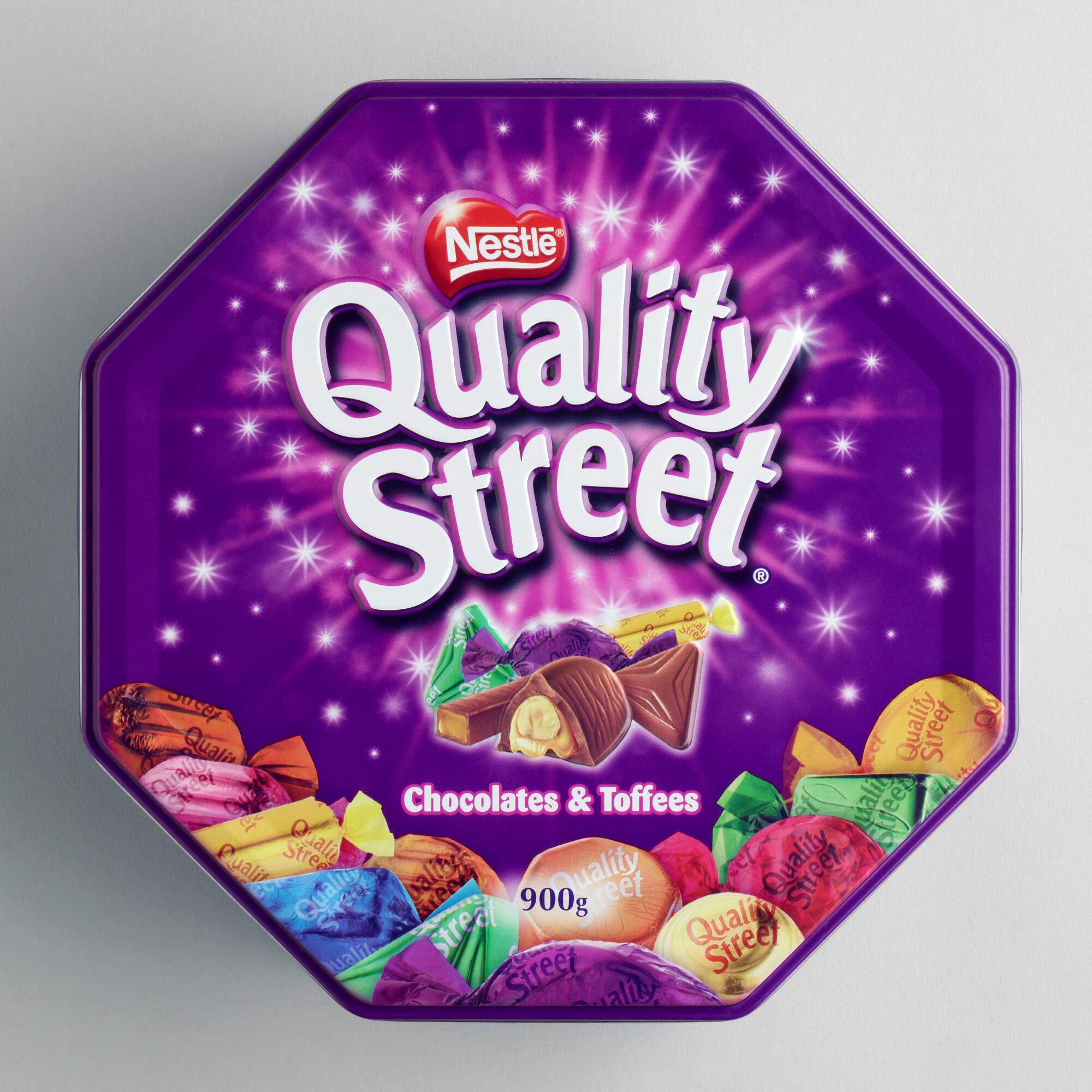 World Market Lately: Quality Street Chocolate Tin