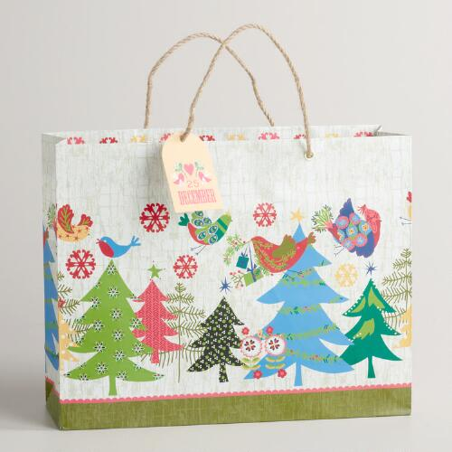 Large Trees Alpine Gift Bag