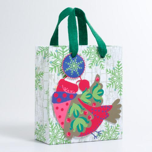Small Bird Alpine Gift Bag