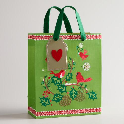Medium Branches Alpine Gift Bag