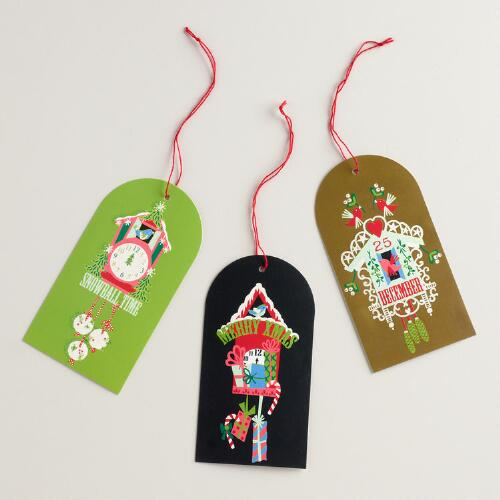 Alpine Workshop Gift Tags, Set of 6