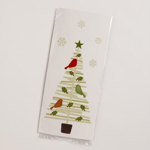 Stick Tree Cellophane Bags, 8-Pack