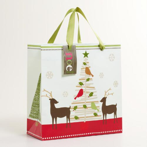 Medium Stick Tree Gift Bag