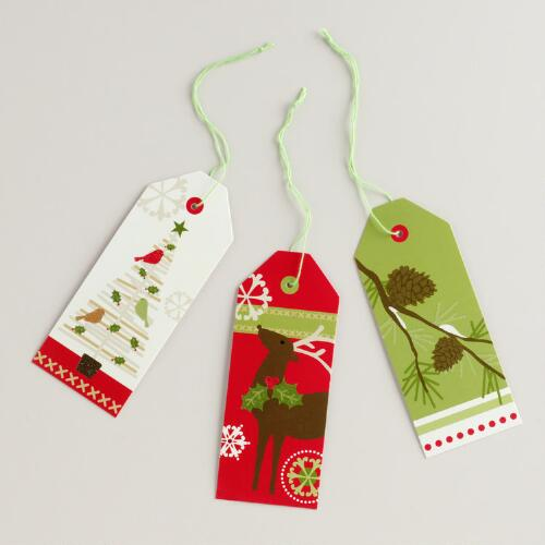 Stick Tree Gift Tags, Set of 6