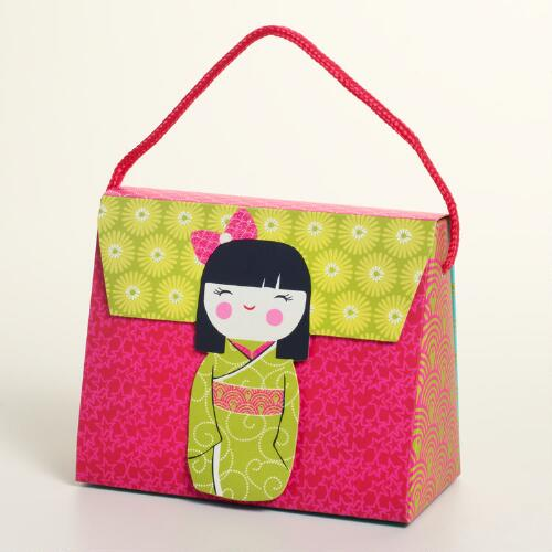 Kokeshi Doll Candy Purse