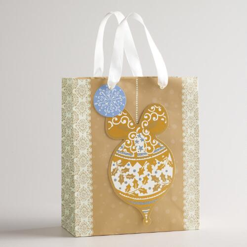 Medium Ornaments Noel Gift Bag