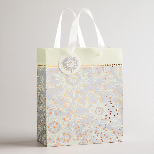 Medium Ornament Noel Gift Bag