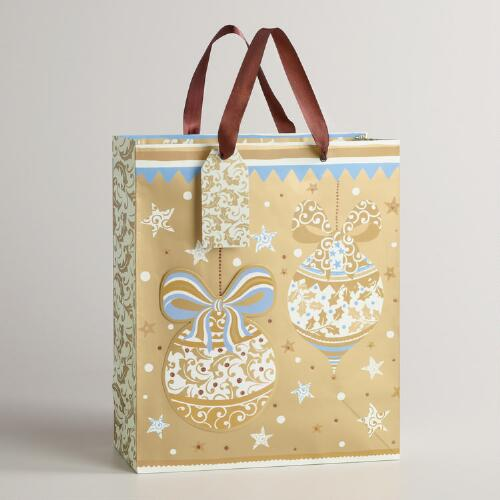 Large Ornaments Noel Gift Bag